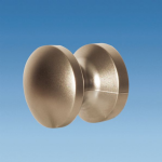 Push Lock Knob, 19mm, BRASS